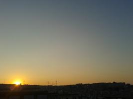 tramonto leggero
