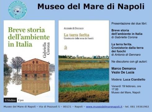 Locandina Museo del Mare 19 febbraio